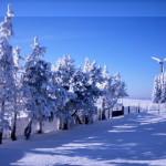 Ferien Erzgebirge, Ferienbungalow Marienberg, Hirtstein Skigebiet